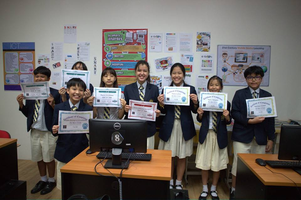 Key Stage 3 ICT students took part in the 'Hour of Code' project